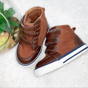 CRAZY 8 | 4 Toddler Sneakers Faux Leather & Canvas
